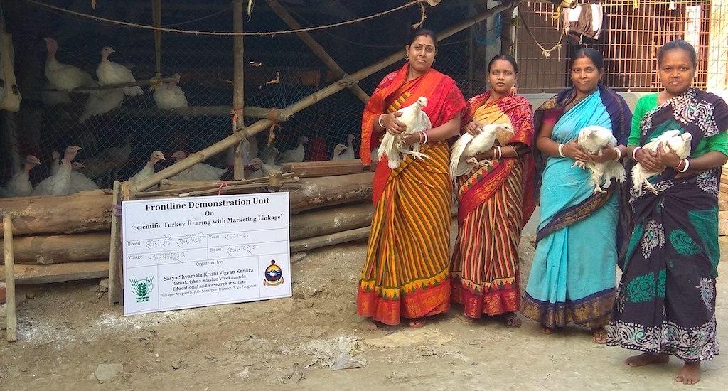 बंगाल की महिलाओं ने टर्की में पाई एक व्यवाहरिक आजीविका