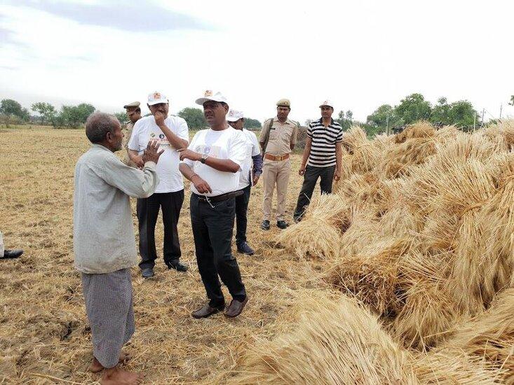 बुंदेलखंड में जनता और प्रशासन के आपसी सहयोग और विश्वास ..