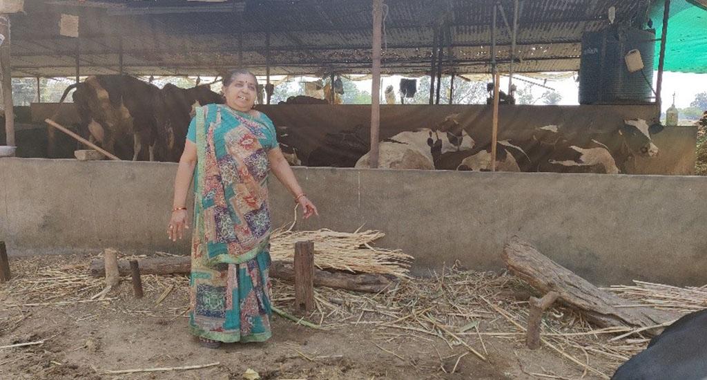 सशक्त महिला डेयरी किसानों ने छोड़ा प्रभाव