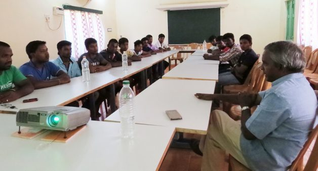 Suggestions of the village youth in Kuthambakkam are given importance before taking any decision. (Photo by Jency Samuel)