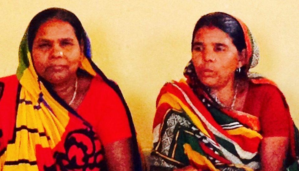 Runa Devi and Daya Devi of Kaladinda village in southeast Bihar have emerged as village leaders. (Photo by Suneeta Dhar)
