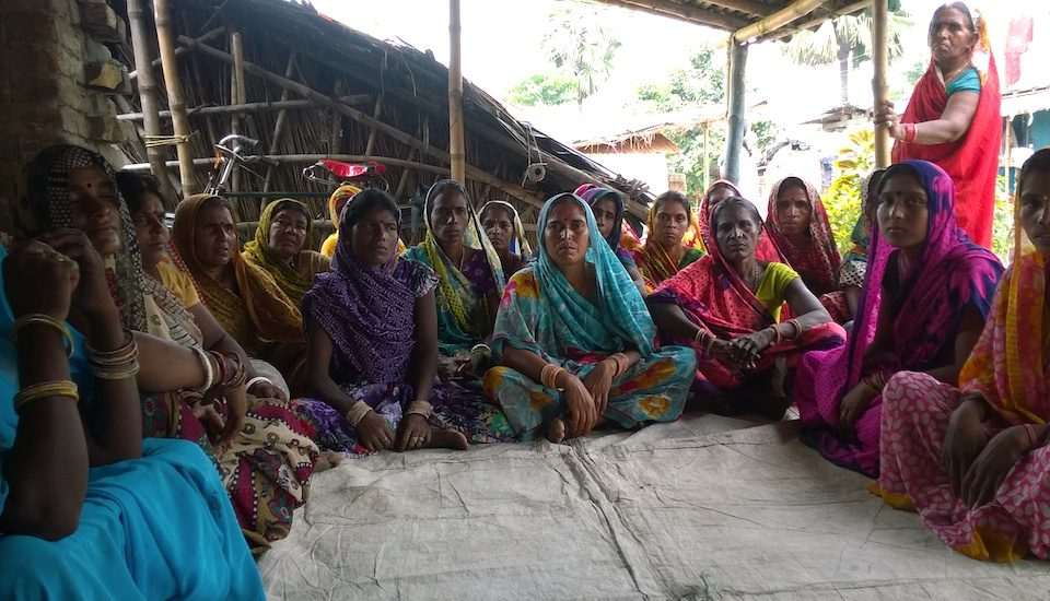 Women in rural Samastipur are supportive of the government's blanket ban on alcohol consumption. (Photo by Debika Goswami)