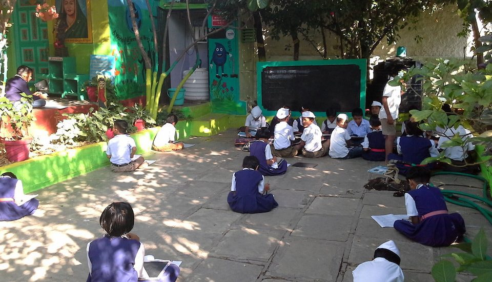 The concept of everyday school has many takers in Kardilwadi. (Photo by Gouri Agtey Athale)