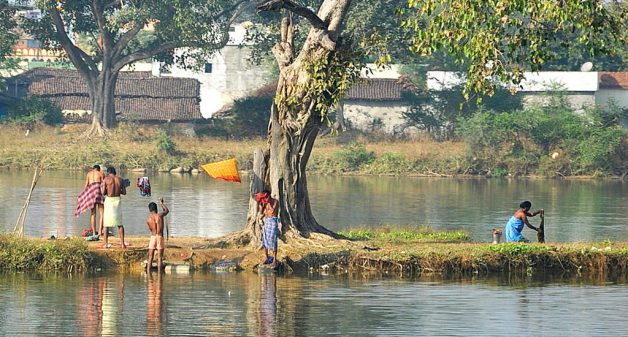 Women need secluded bathing spaces in villages. (Photo by Prem Kumar Marni)