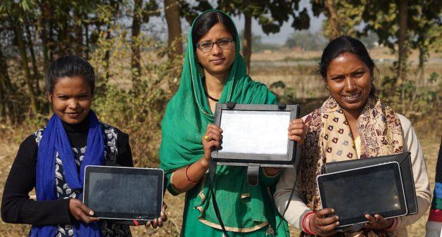 Tablet girls of Jharkhand storm digital bastion