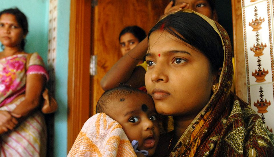 A patriarchal society in India ensures that married women are responsible for contraceptive use. (Photo by Pippa Ranger/Department for International Development)