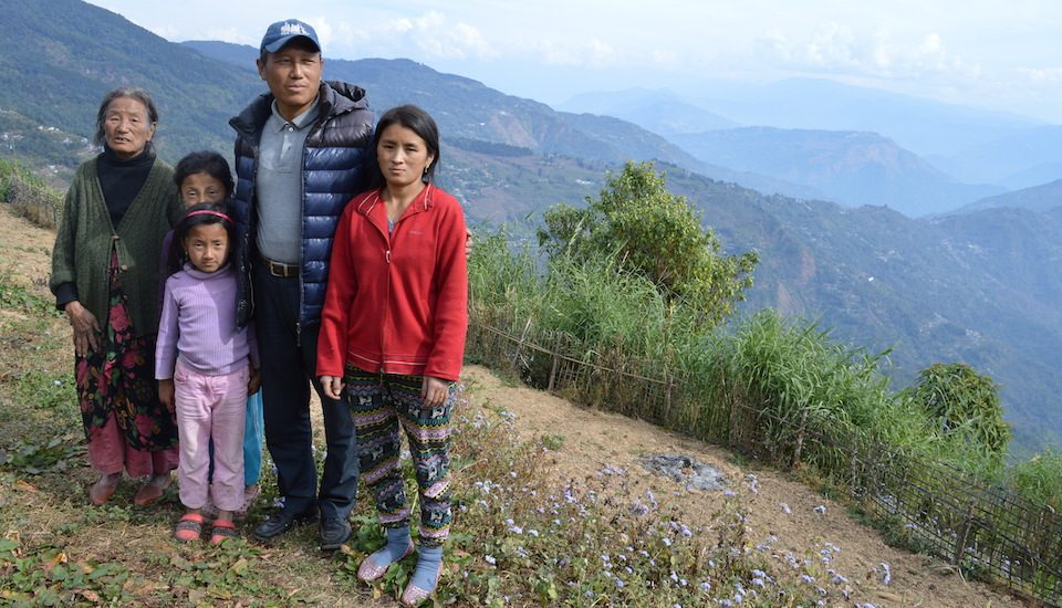 Phincho Tsering Dukpa has decided to sell more than half of his land because of frequent losses. (Photo by Athar Parvaiz)