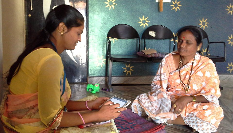 Regular collection of health data helps in designing health and nutrition interventions. (Photo by Gouri Agtey Athale)