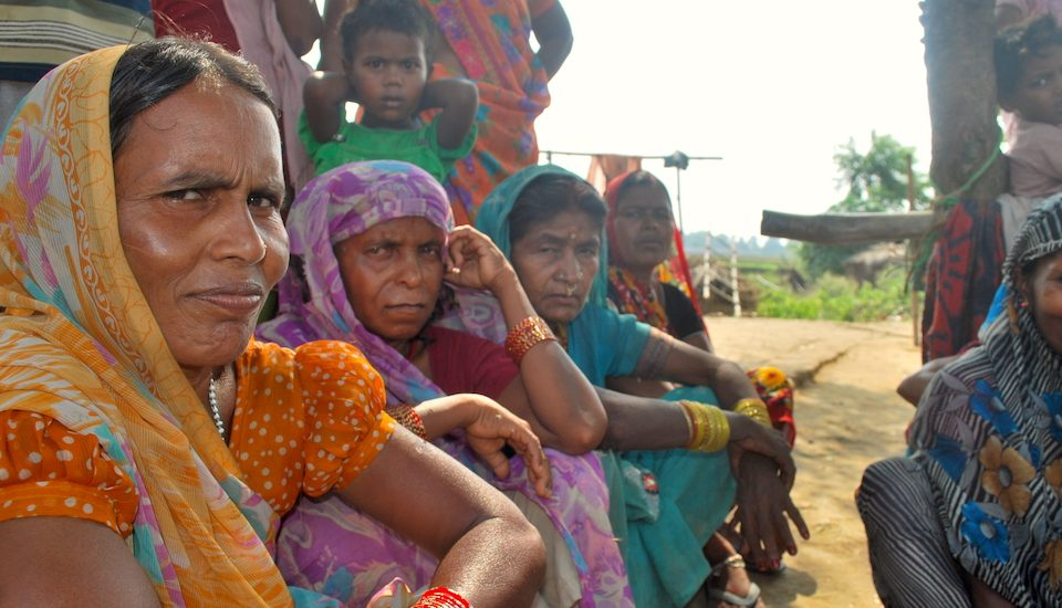 Women in Patna district say the grain bank has released them from exploitation by landed farmers. (Photo by Mohd Imran Khan)