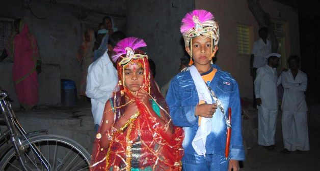 Child marriages are prevalent in many parts of India. (Photo by Naga Rick)