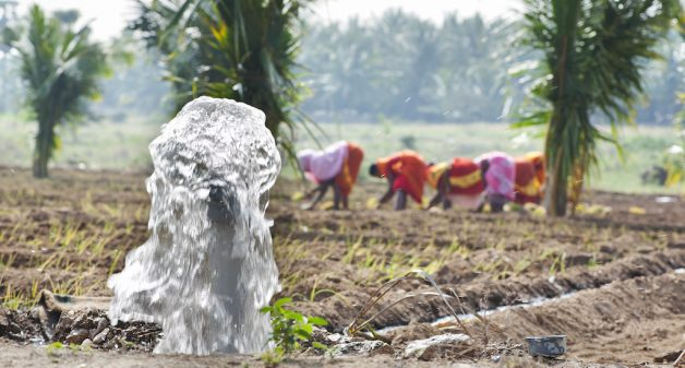 Small pumps are a viable solution for poor farmers