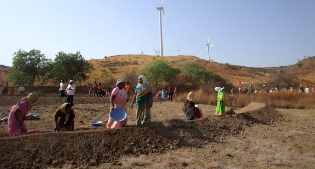 Competition encourages watershed management to drought-proof Maharashtra villages