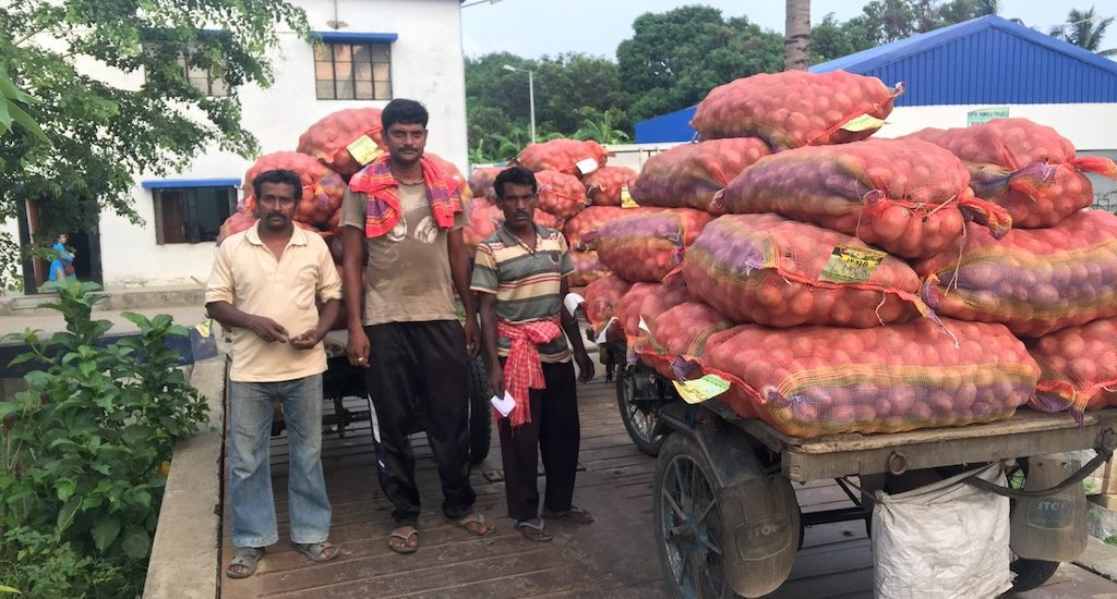 Singur emerges as procurement hub for local farmers
