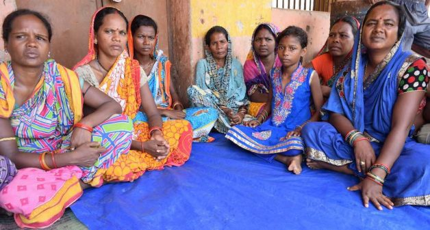 Enlightened by community radio programs, women of Adakata village oppose child marriage. (Photo by Basudev Mahapatra)