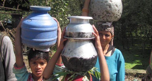 Fetching water adds to the drudgery of J&K women