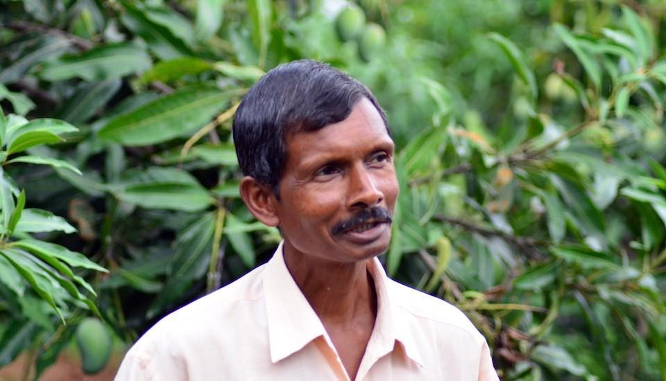 Michael Ekka has become a successful entrepreneur by providing vital services to local farmers. (Photo by Ashok Kumar)