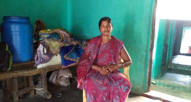 Woman mason rebuilds life after devastation of Cyclone Phailin