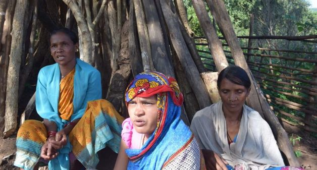 Kondh tribal women cannot imagine life without their forest that ensures their food and nutritional security. (Photo by Basudev Mahapatra)
