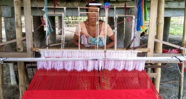 Technology has helped Mising women turn traditional weaving skills into a viable livelihood. (Photo by Abdul Hamid)
