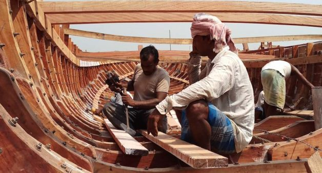 Number of boat makers in Balagarh has come down with decline in demand for wooden boats. (Photo by Gurvinder Singh)
