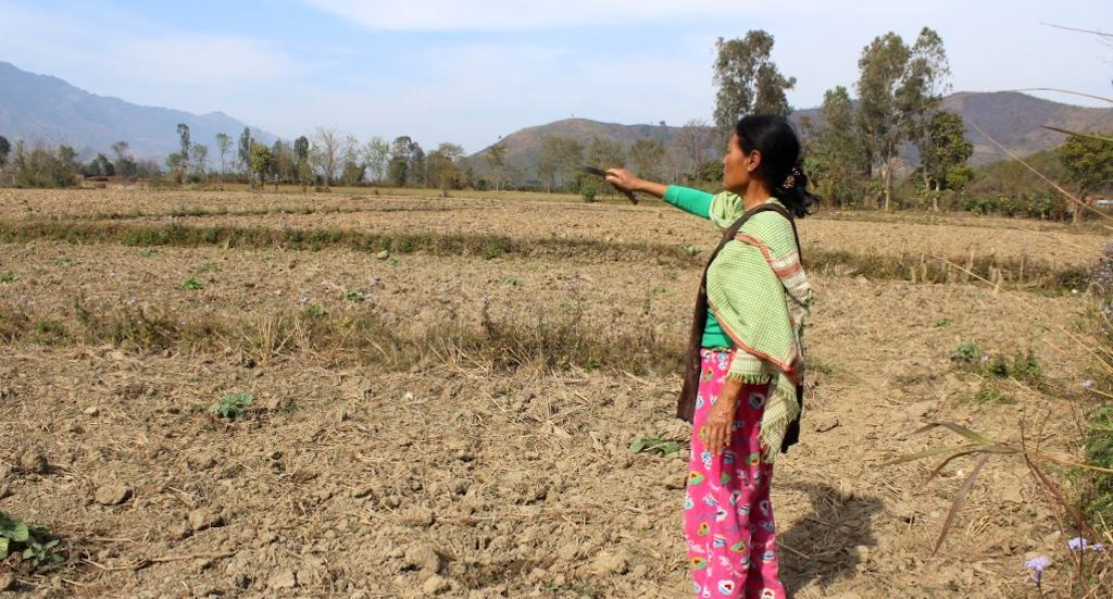 Women feel the heat of climate change in rural Manipur