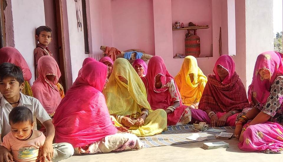 Left behind in the digital revolution, women of Rawatpura village hope their children would catch up with the fast-paced development. (Photo by Shubham Sharma)
