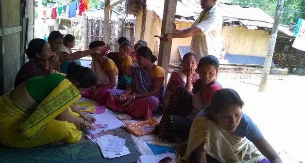Microfinance company helps women access finances for income generation activities. (Photo by Grameen Sahara)