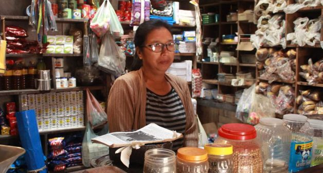 Women have set up convenience stores to shore up household earnings. (Photo by Ninglun Hanghal)