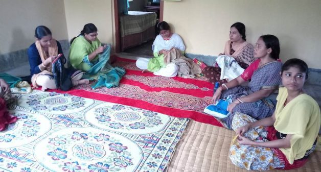 The journey of a mother-daughter duo has revived traditional Kantha embroidery and empowered rural women as craftspersons. (Photo by Dhruba Das Gupta)
