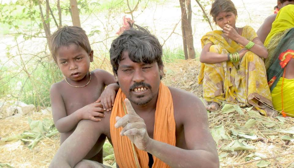 Nanda Musahar lost his daughter and son due to a callous state healthcare system (Photo by Tarun Kanti Bose)
