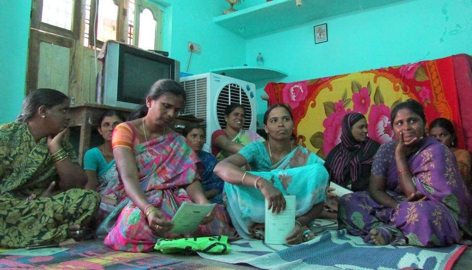 Farm widows in Atmakur of Warangal district have got their lives back on track due to financial inclusion programs. (Photo by Prajwal Suvarna)