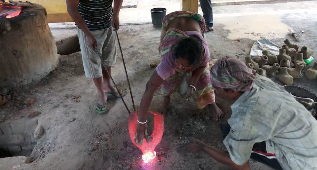 With government intervention, the artisans have better furnaces and improved working conditions (Photo by Gurvinder Singh)