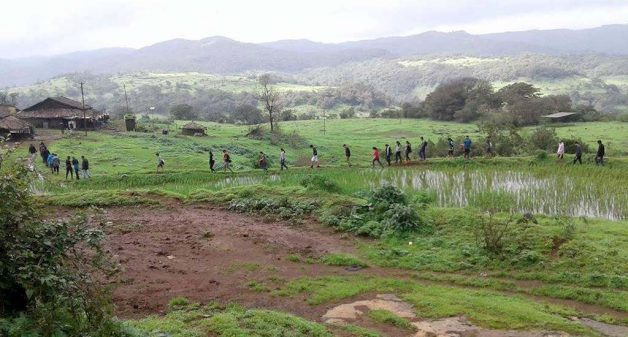 Yelavali villagers practice responsible tourism by limiting number of visitors to their eco-camp (Photo by Subhash Dolas)