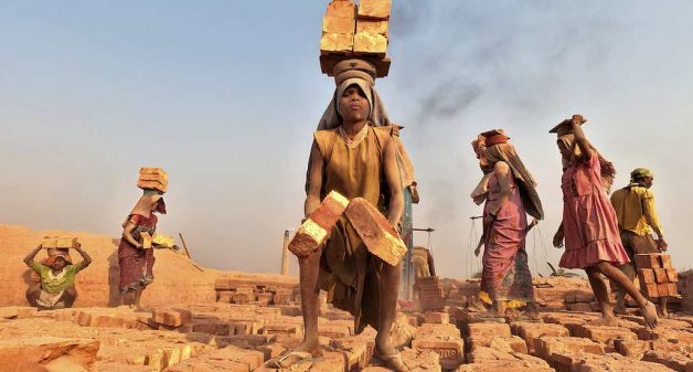 Sexual predation of women is rife in brick kilns and construction sites (Photo by Joydeep Mukherjee)