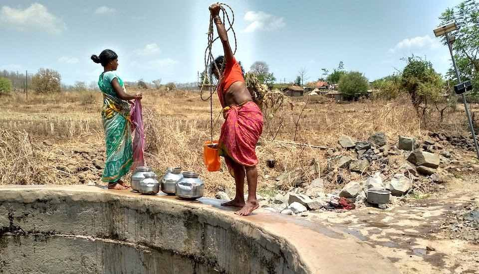 Groundwater recharge has improved availability of potable water in villages in the Marathwada region (Photo by Shashank Deora)