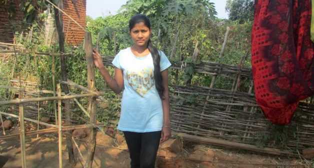 Jagyaseni Patra, a girls' group leader, finds the balika mandal an ideal platform to discuss about education and aspirations (Photo by Rakhi Ghosh)