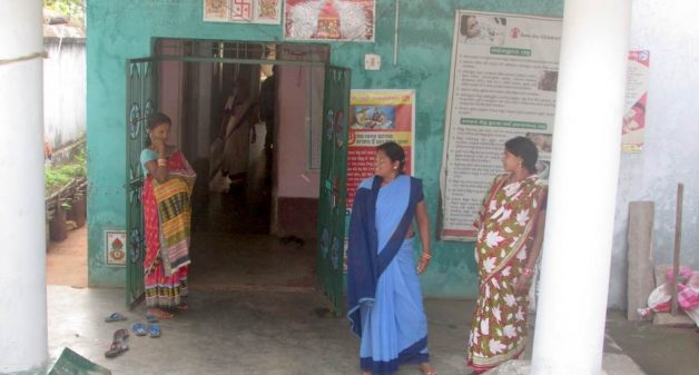 Maternity homes, such as the one in Beldapada, help tribal women in remote villages access hospitals for a safe, institutional delivery (Photo by Rakhi Ghosh)