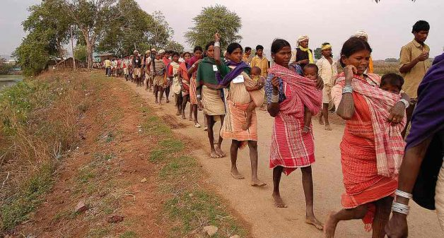 How development excludes India's tribal people
