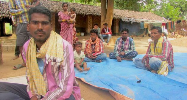 Dasarathi Lahajar and the others from Kalahandi district, who migrated to Telangana for work, had to be rescued from bondage (Photo by Rakhi Ghosh)