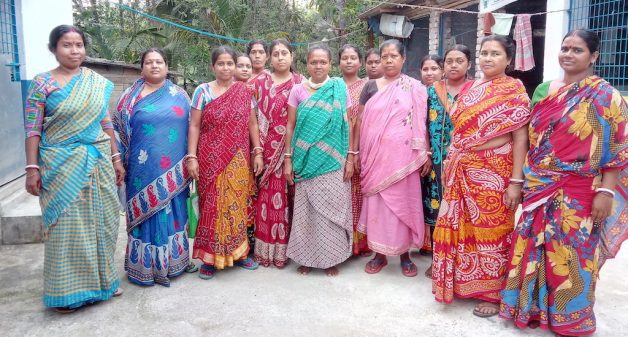 The SHG women's tenacity in rearing turkey against odds has prompted formation of new groups to take to poultry rearing (Photo by Dhruba Das Gupta)