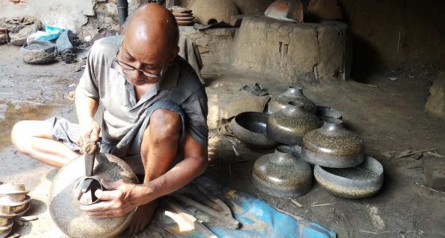 Bengal's brass workers labor to sustain tradition