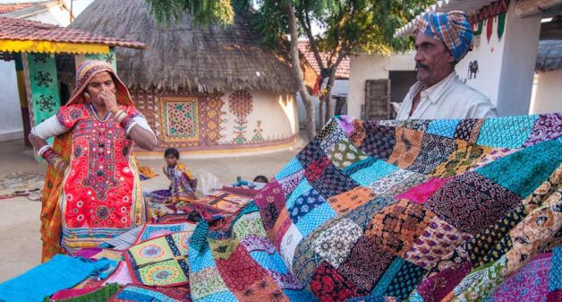 Kachchh is also well-known for its traditional embroidery, besides the handloom weaves making a comeback(Photo by Flickr)