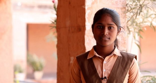 Geeta Meghwal's decision to study science in a boys' school, so as to follow her dreams, has prompted many girls to opt for science education (Photo by Rakhee Roytalukdar)