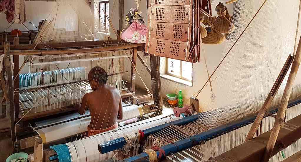 The craft of Kuthampully weavers faces an uncertain future (Photo by Remya Padmadas)