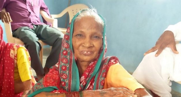 A community-based public-private initiative that caters to the needs of senior citizens, has improved the physical and mental health of elderly people such as Laxmibai Naitam (Photo by Abhijeet Jadhav)