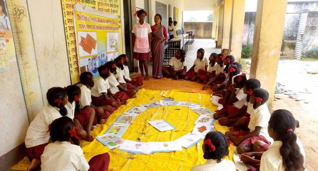 Village girls shed fear and shame about menstruation