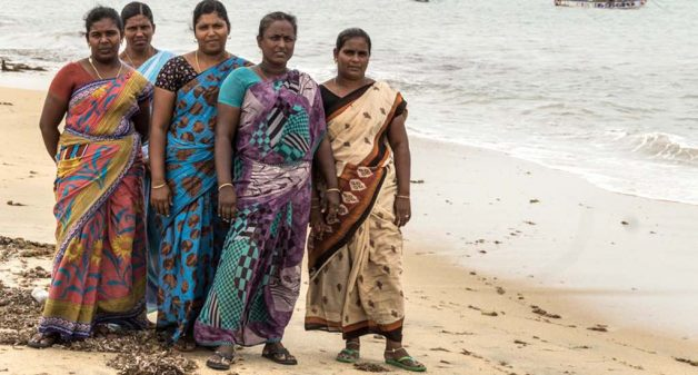 Women in coastal villages in Tamil Nadu like Roachmanagar are now trained how to act in the event of a natural disaster like storm surges (Photo by Sharada Balasubramanian)