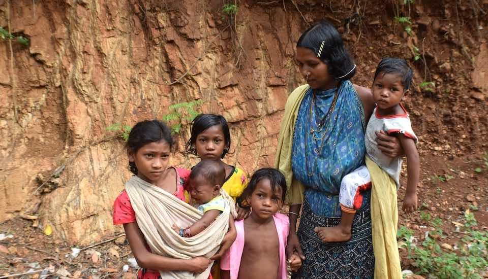 Community norms that do not subscribe to using contraceptives have led to Saora and Dongria Kondh tribal women to have many children in quick succession (Photo by Basudev Mahapatra)