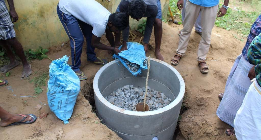 Farmers repurpose bore wells for rainwater harvesting