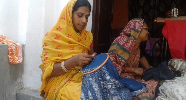 Rural women place Sujini embroidery on global map